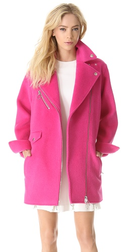 Moschino Cheap and Chic Wool Coat