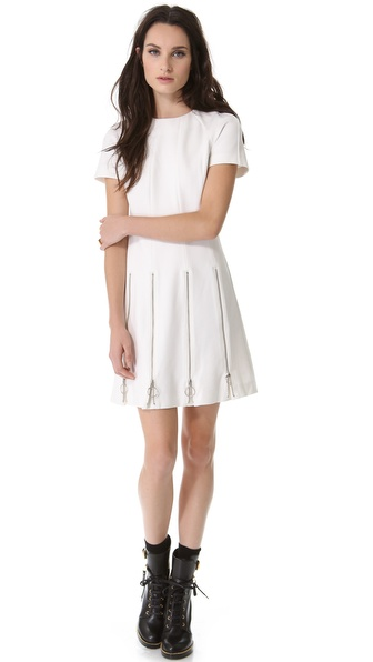 Moschino Cheap and Chic Zipper Dress