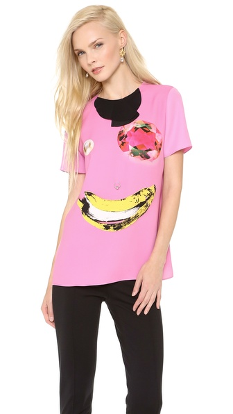 Moschino Cheap and Chic Face Tee