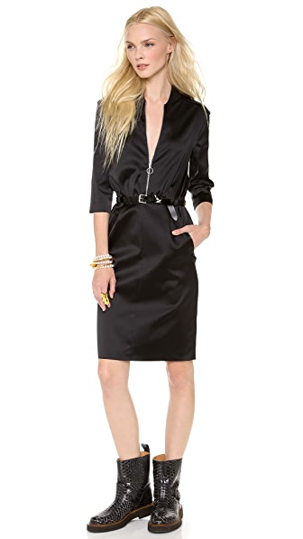 Moschino Cheap and Chic Satin Dress
