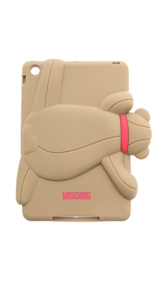 Moschino Bear Ipad Mini Case - Beige at Shopbop