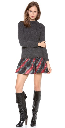 Moschino Long Sleeve Knit Dress at Shopbop / East Dane