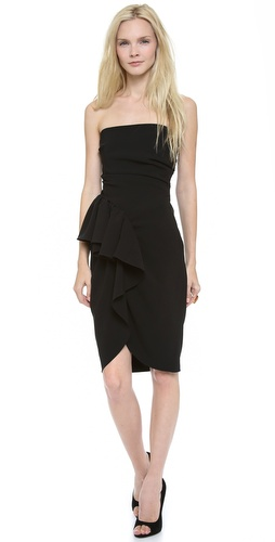 Moschino Strapless Draped Dress at Shopbop / East Dane