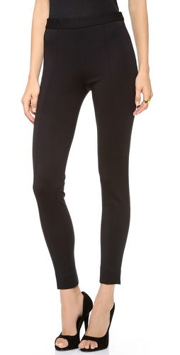 Moschino Side Zip Front Stitch Leggings at Shopbop / East Dane