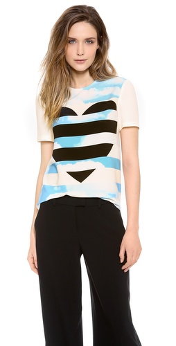 Moschino Cheap and Chic Short Sleeve Top at Shopbop / East Dane
