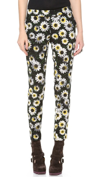 Moschino Cheap and Chic Floral Pants
