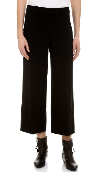 Moschino Cheap And Chic Wide Leg Pants - Black at Shopbop / East Dane