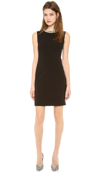 Moschino Sleeveless Short Dress - Black at Shopbop / East Dane