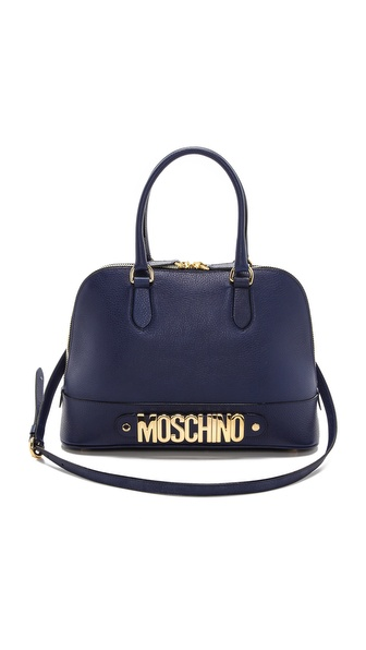 Moschino Moschino Leather Satchel