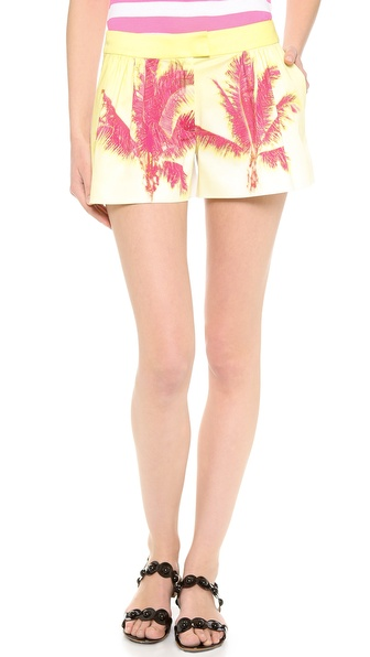 Moschino Cheap And Chic Palm Shorts - Multi at Shopbop / East Dane
