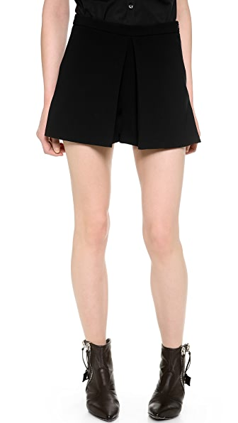 Moschino Cheap and Chic Pleated Shorts