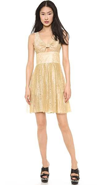 Moschino Moschino Cheap And Chic Lace Dress (Yellow)