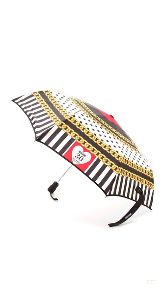 Moschino Printed Umbrella - Multi at Shopbop / East Dane