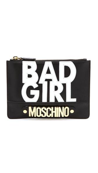 Moschino Bad Girl Clutch - Black