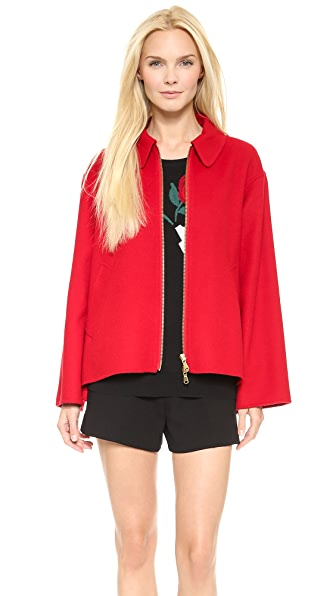 Moschino Cheap and Chic Felt Jacket