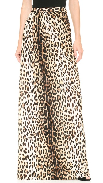 moschino cheap and chic leopard maxi skirt shopbop