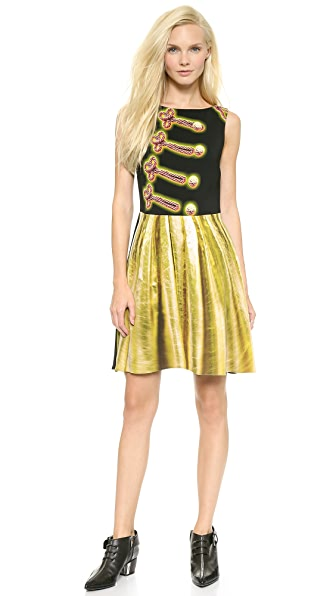 Moschino Moschino Cheap And Chic Sleeveless Dress (Multicolor)