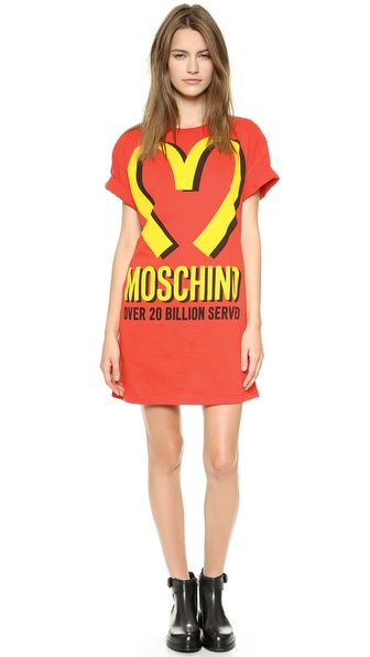 Moschino Moschino Arches T-Shirt Dress