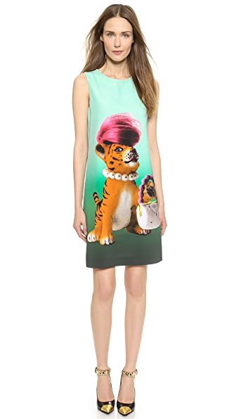 Moschino Moschino Cheap And Chic Dress (Multicolor)