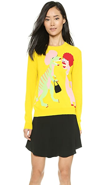 Moschino Moschino Cheap And Chic Dino Sweater (Yellow)