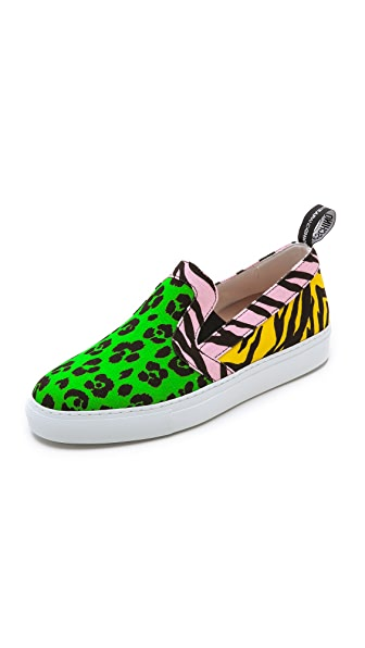 Moschino Moschino Cheap And Chic Slip On Sneakers (Multicolor)
