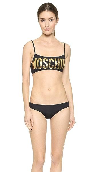 Moschino Moschino Moschino Bikini (Black)