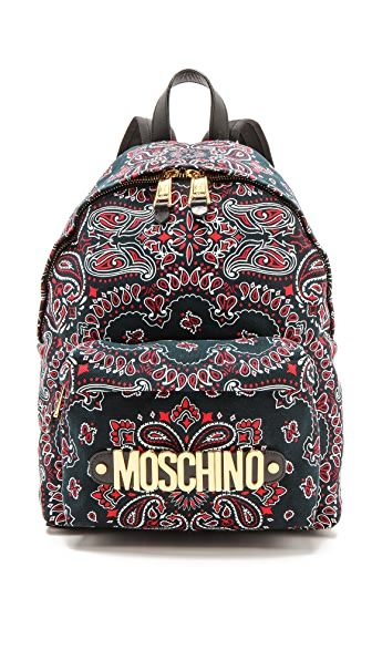 Moschino Moschino Bandana Backpack (Black)