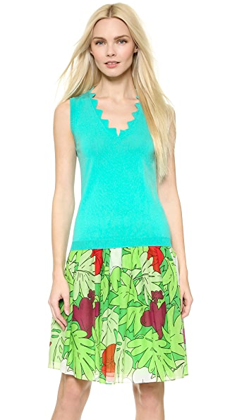 Moschino Moschino Cheap And Chic Sleeveless Top (Multicolor)