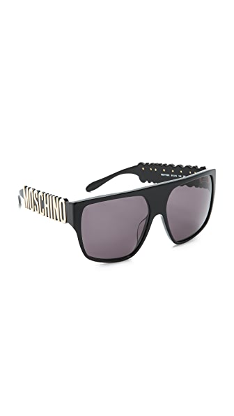 Moschino Moschino Flat Top Sunglasses (Multicolor)