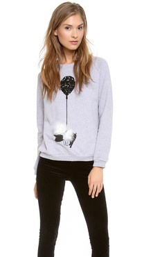 Mother of Pearl Fleece Pig Top