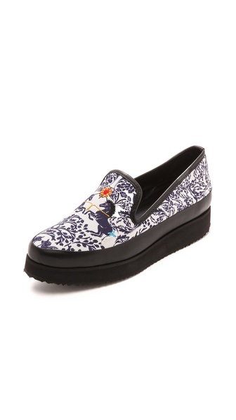 Mother-of-Pearl-Kennedy-Unicorn-Slip-On-Sneakers