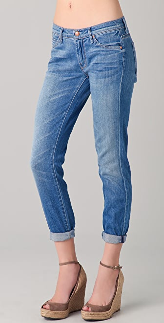 MOTHER The Teaser Slouchy Skinny Jeans