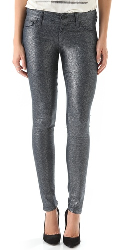 Shop MOTHER The Looker Glimmer Skinny Jeans and MOTHER online - Apparel,Womens,Bottoms,Jeans, online Store