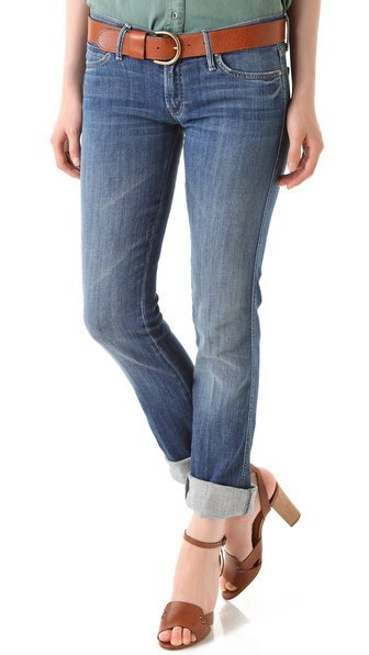 MOTHER The Rascal Straight Jeans