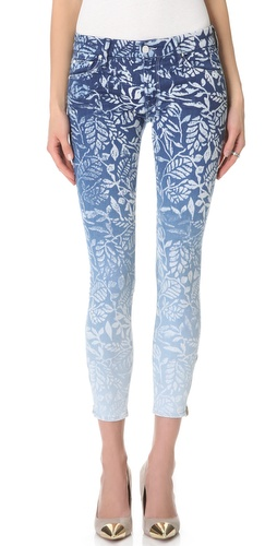 Shop MOTHER The Looker Print Ankle Zip Jeans and MOTHER online - Apparel,Womens,Bottoms,Jeans, online Store