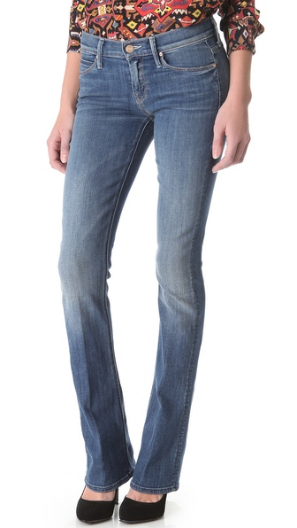 MOTHER The Runaway Slim Boot Cut Jeans