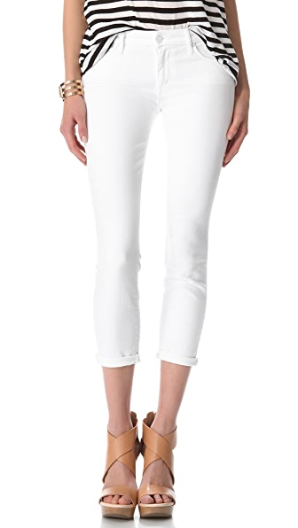 MOTHER Looker Crop Skinny Jeans