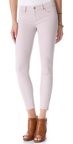 MOTHER The POP! Looker Zip Skinny Jeans