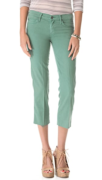 MOTHER The Painted Ladies Straight Leg Jeans