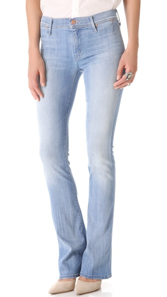 MOTHER The Daydreamer Skinny Flare Jeans