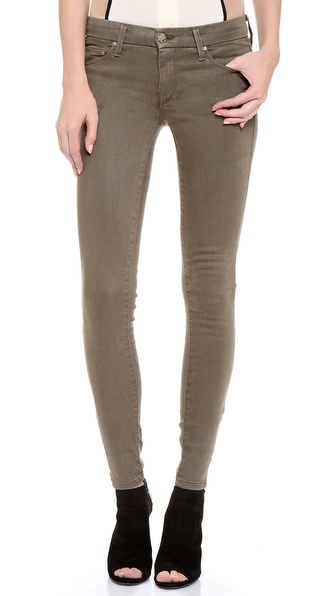 MOTHER The Looker Zip Skinny Jeans