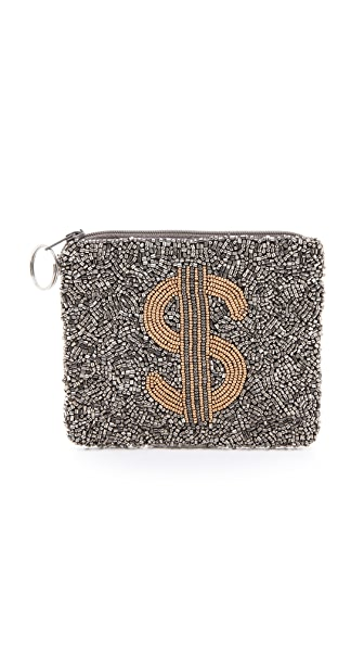 MOYNA Dollar Sign Pouch
