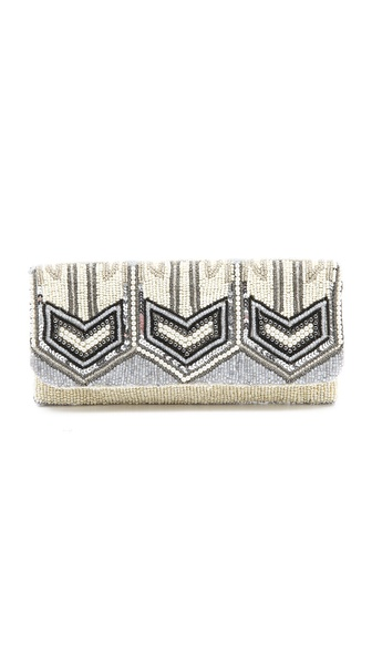MOYNA Fold Over Clutch