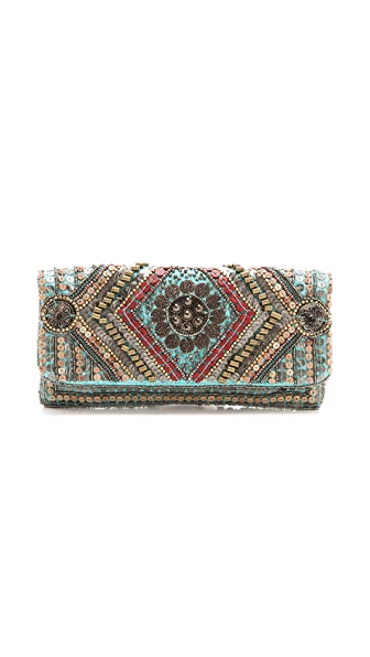 MOYNA Fold Over Coin Clutch