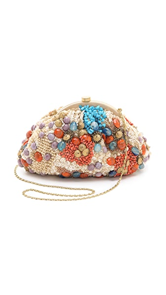 MOYNA Purse with Uncut Stones