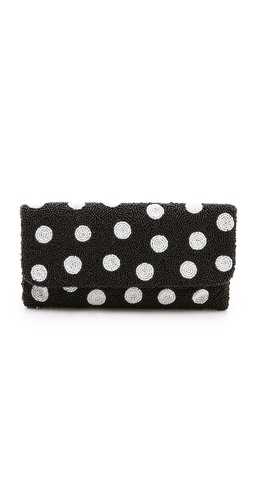 MOYNA Polka Dot Clutch at Shopbop / East Dane
