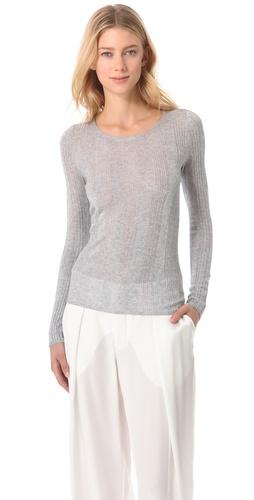 M. PATMOS Cashmere Rib Sweater