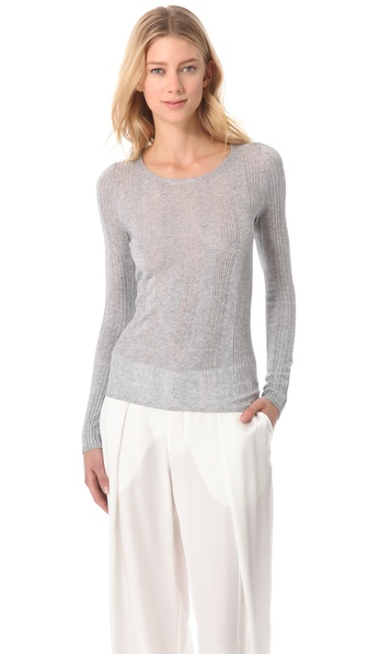 M. PATMOS Cashmere Rib Sweater