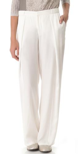 M. PATMOS Silk Blocked Pants