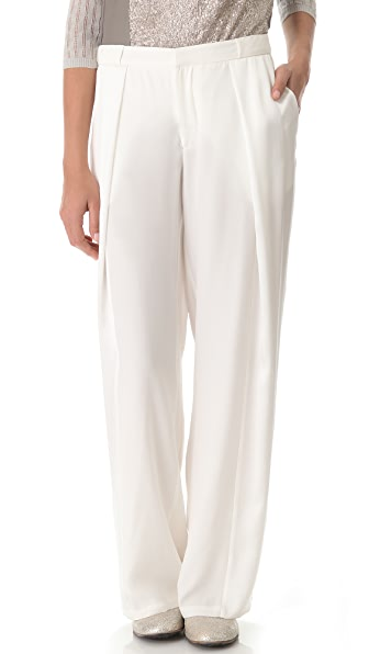 M.PATMOS Silk Blocked Pants